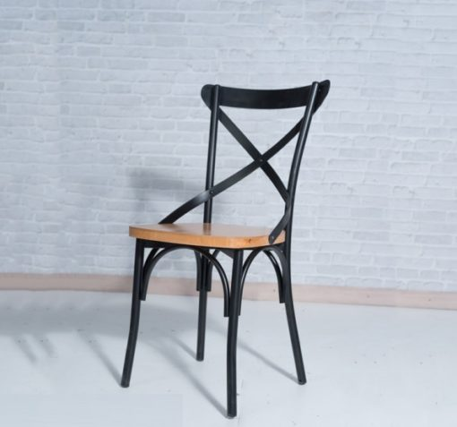 CHAISE BISTROT INDUSTRIELLE
