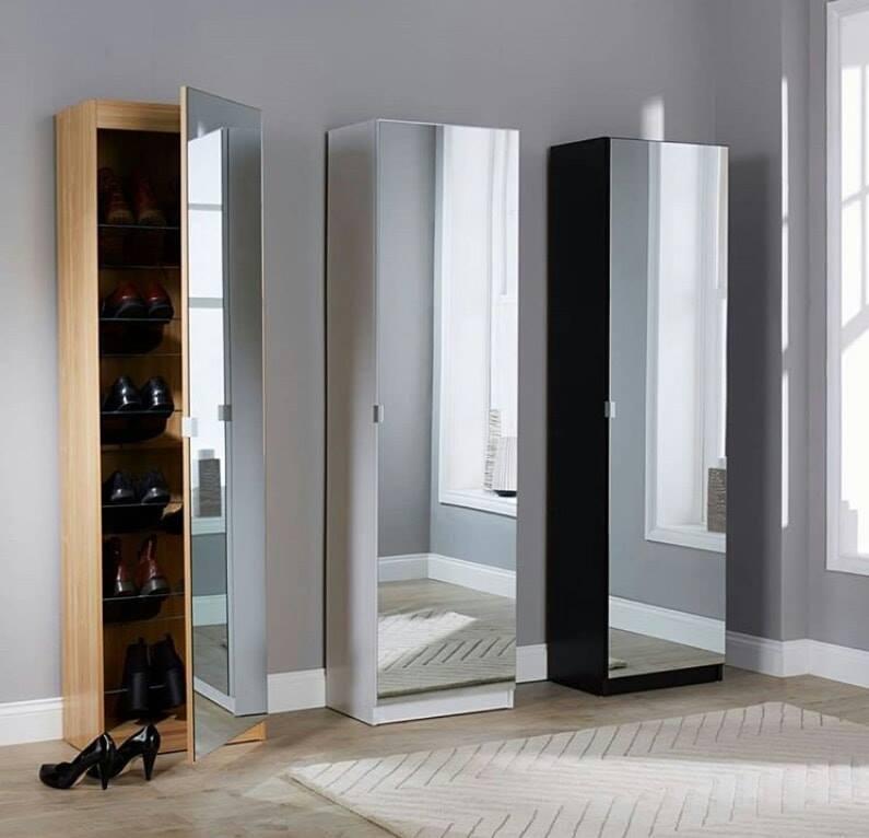 Meuble Chaussures Miroir 1m80 Vente En Ligne Ahladecor Tn