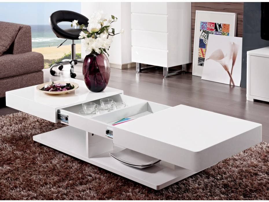 Table Tunisie: Table Basse extensible: design moderne