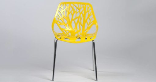 chaise jaune