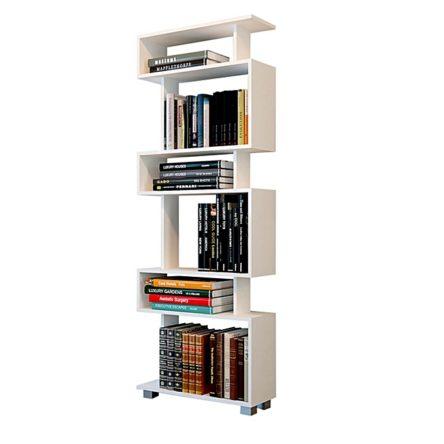 étagère - Blanc - L60 x P20 x H160 cm