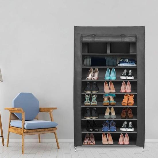Armoire en Tissus Rangement de Chaussures