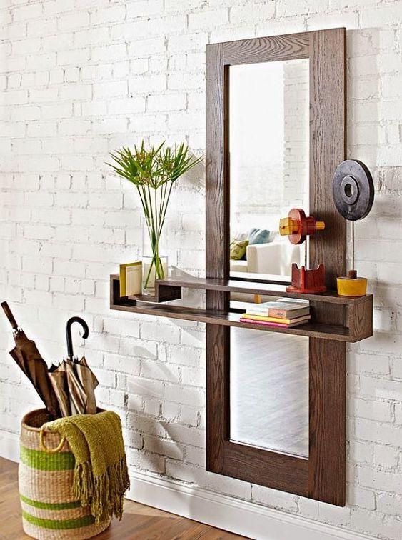 meuble d'entrée Miroir M10
