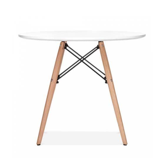 table-ronde-scandinave-bois-tunisie-moderne