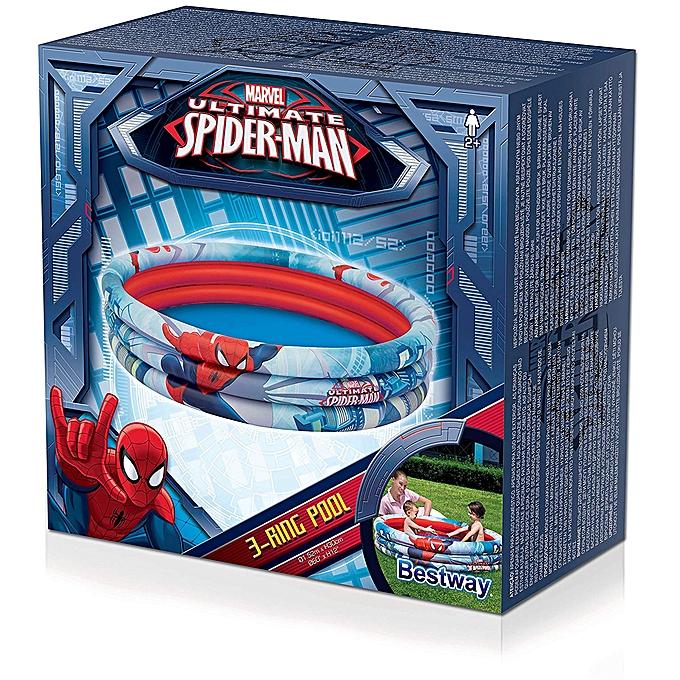 Bestway Piscine gonflable Spider man 152×30 Cm