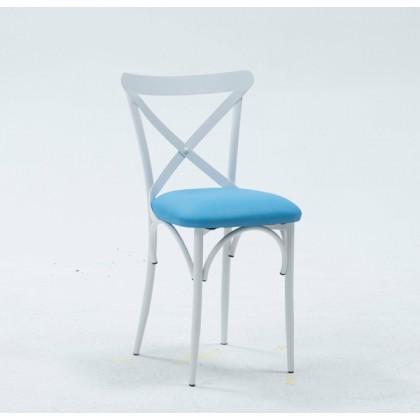 chaise-acier-jardin