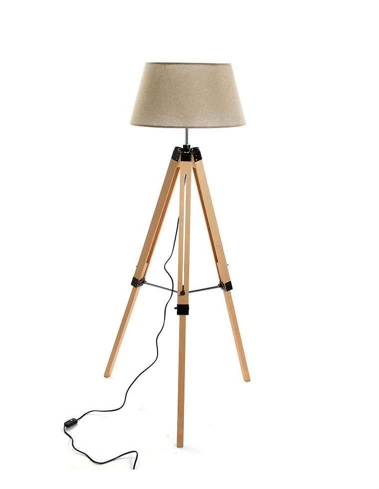 lampadaire-sur-tr-pieds-en-bois