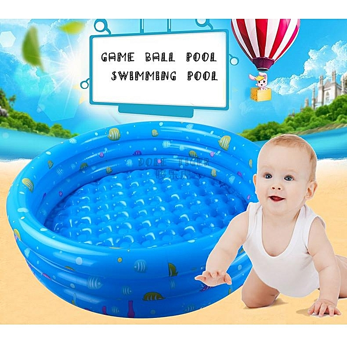 Piscine Gonflable Enfant - 110cm x 30cm - Bleu