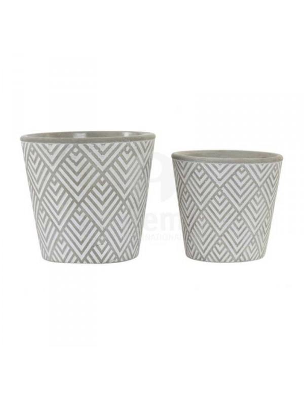 set-de-2-supports-pot-de-fleurs-gris-et-blanc-en-ciment-16-7x15-5-cm