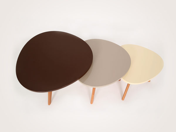 3 tables basse