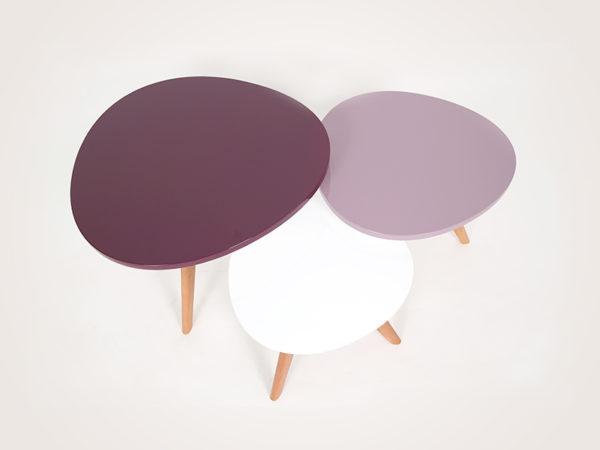 3 table basse scandinave