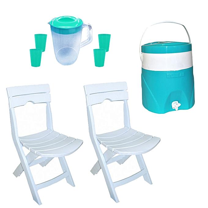 pack chaises pliable