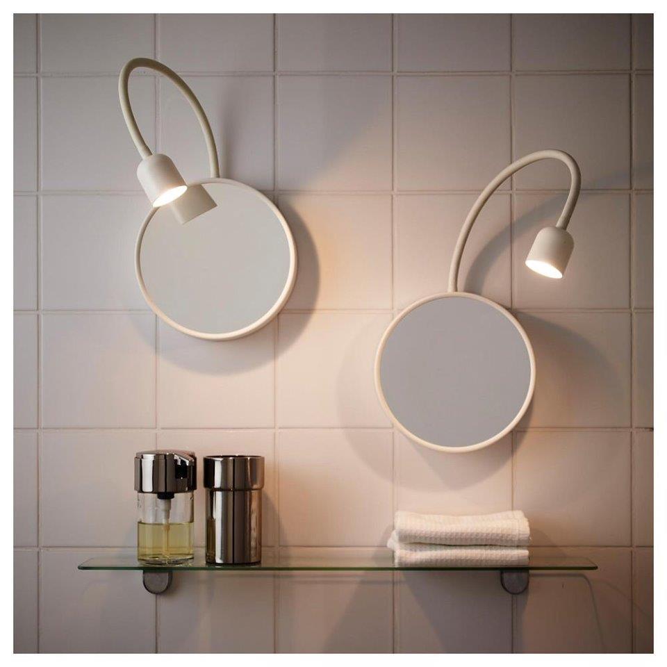 Lampes LED-Miroir