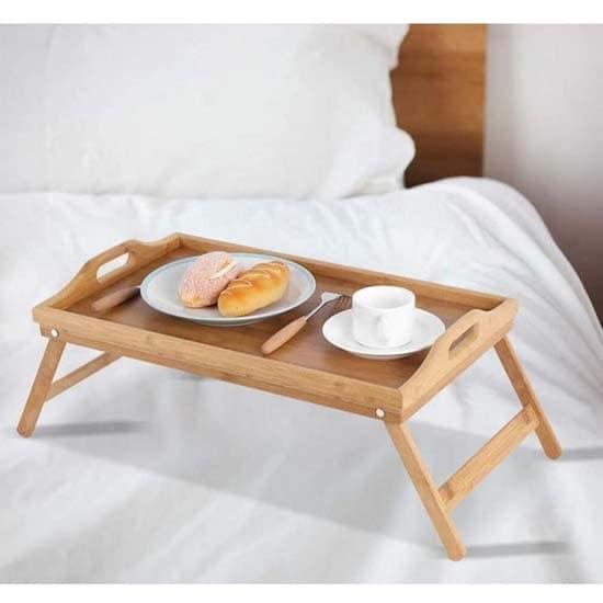 table-pliante-moderne-lit