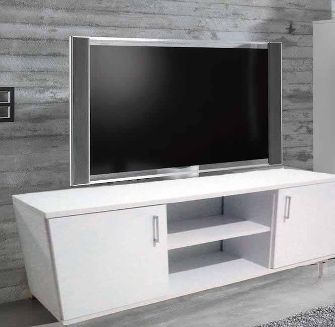 meuble-tv-moderne-pied-Inox
