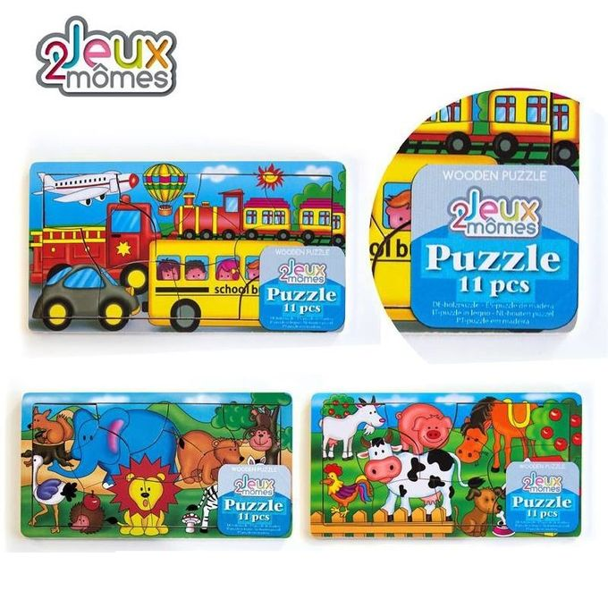Puzzle-Animaux-11- Pieces