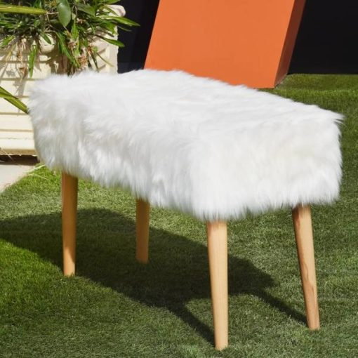 pouf--tabouret-moderne-tunisie-fourrure