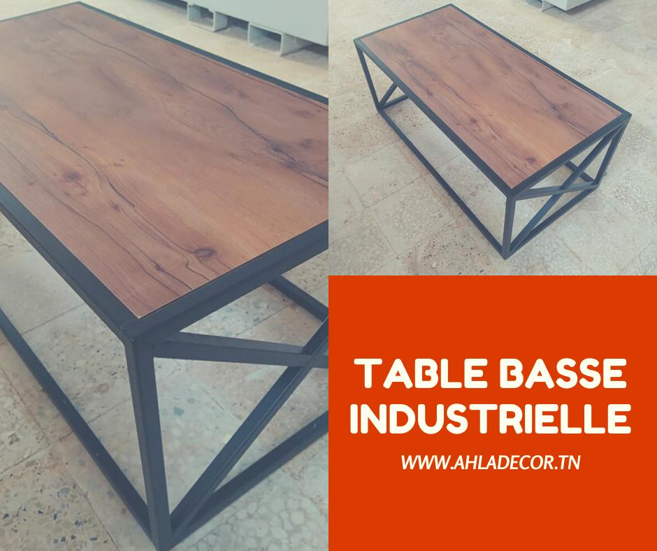 table-basse-industrielle-salon-moderne-tunisie
