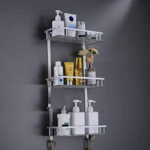 étagère-aluminium-salle-de -bain-moderne-tunisie