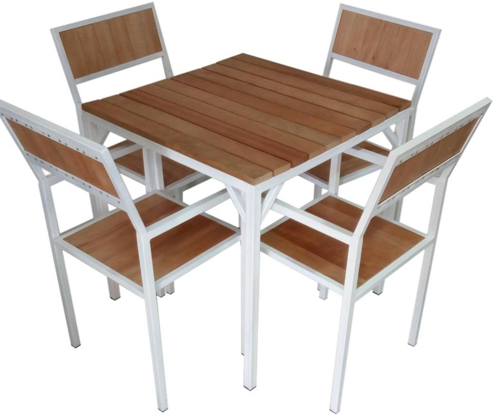 chaise-jardin-moderne-bois-noble-acier