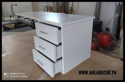 bureau-moderne-tunisie-3-tiroirs
