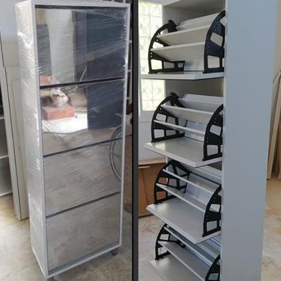 meuble-chaussures-36-paires-façade-miroir-tunisie-modèle-2021