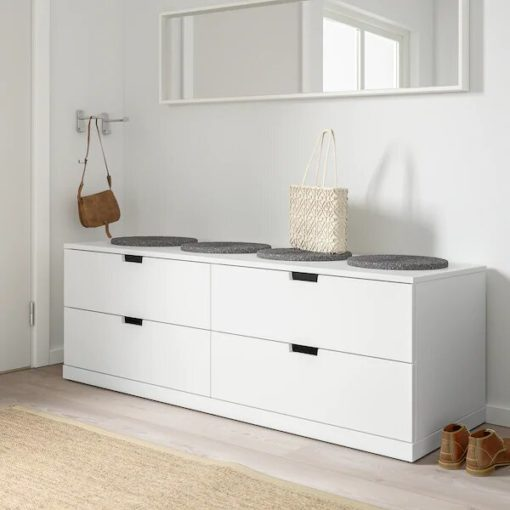 commode-4-tiroir-blanc-moderne-tunisie-meuble