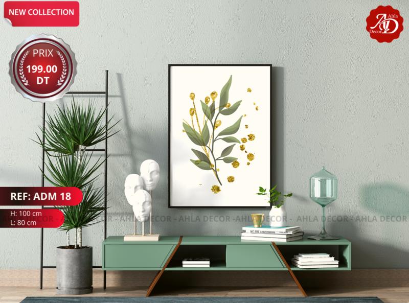 tableau-unique-haute-résolution-vinyle-tunisie-decoration-mur-moderne-salon