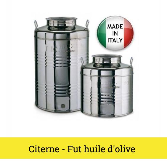 CITERNE - FUT HUILE D OLIVE