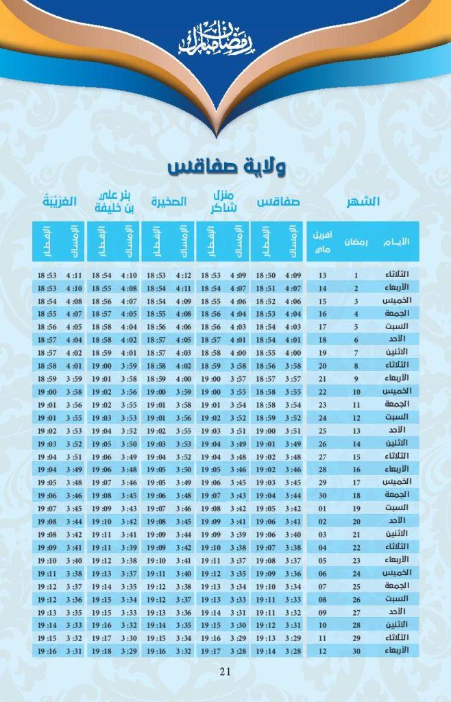 امسكيات-رمضان-2021-صفاقس
