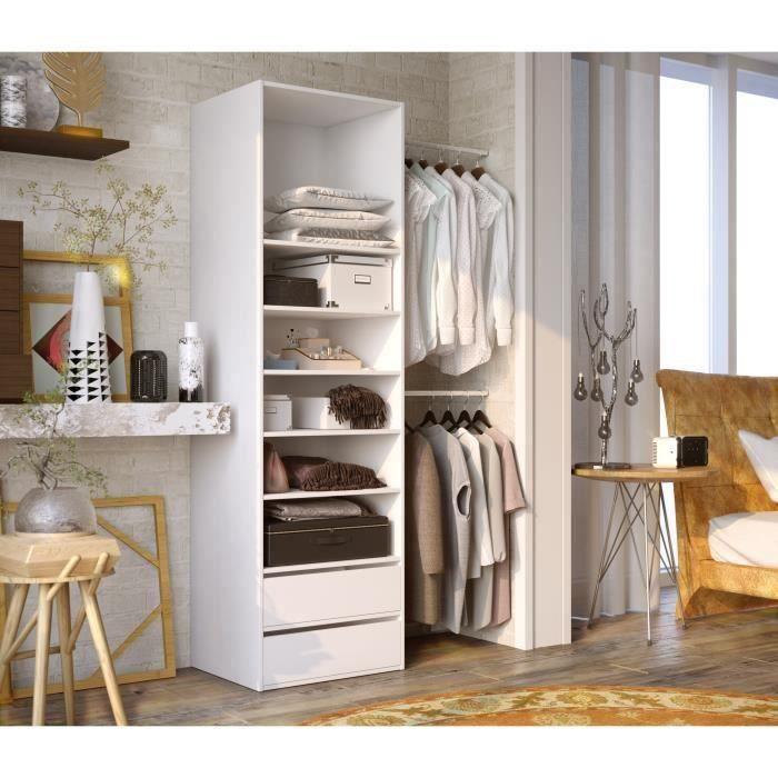 dressing-1-colonne-2-penderies-et-2-tiroirs-chambre-tunisie