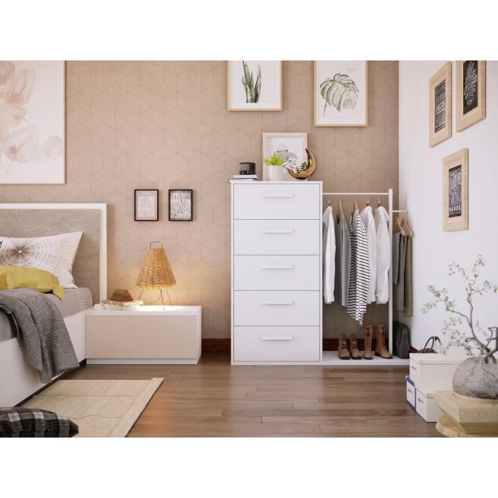 dressing-avec-commode-4-tiroirs-penderie-blanc