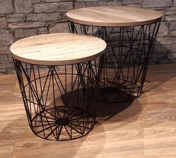 ensemble-table-basse-bois-acier-tunisie