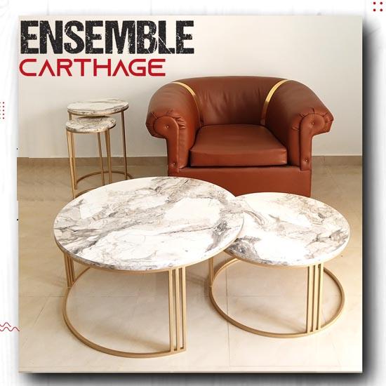 ensemble-table-basse-pour-salon-bois-acier-carthage-effet-marbre